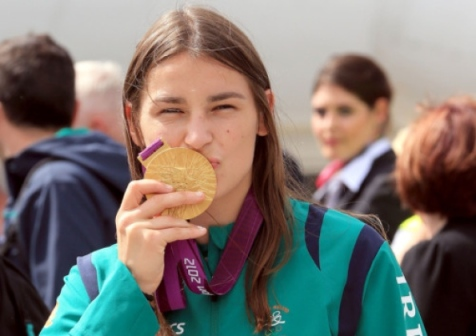 Katie Taylor, Gold Medal Women's Lightweight, 2012 Olympic Gold Winner, Credit: Leinster Leader