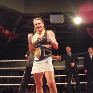 Alesia Graf, WBF Female Super Bantamweight, 12/15/12