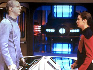 The Traveler and Wesley Crusher, Star Trek TNG
