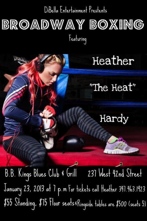Heather Hardy @ BB Kings 1/23/2013