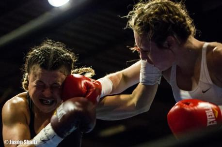Heather Hardy v. Ivana Coleman, 12/8/12. Photo Credit: Jason Shaltz