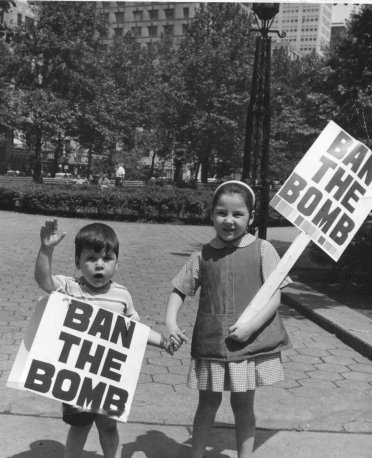 Ban the Bomb Rally, City Hall Park, New York City, 1959