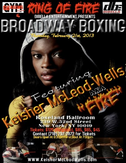 Kiesher McLeod Wells Fighting on 2/21/2013