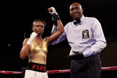 Keisher McLeod Wills with her 6th win on 2/21/13