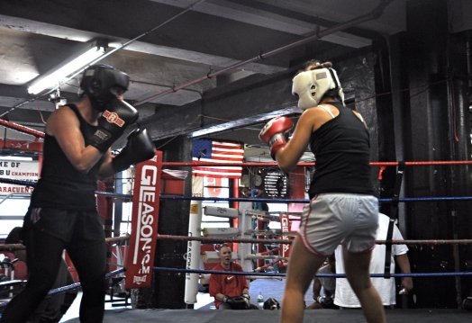 Sparring, Gleason's Gym