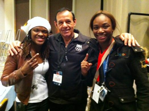 Tiara Brown, Coach Roque & Claressa Shields, Spokane, Wa., Credit: USA Boxing