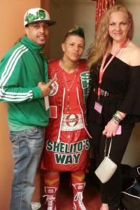 Havoc Boxing with Shelito Vincent and Mary del Pino Morgan, Credit: Mary del Pino Morgan