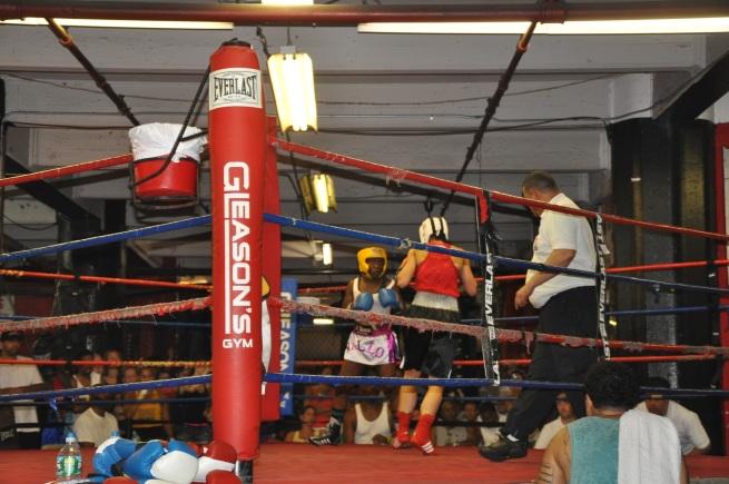 Gleason's Gym, Female JO Fighters, July 19, 2013