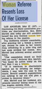 Belle Martell loses license.SANJoseEveningNews.27May1940.Page4.google