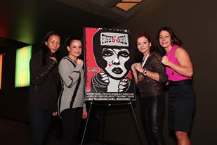 Fight Like A Girl at the Shadow Box Film Festival
