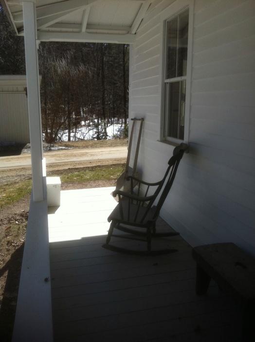 Patti's porch ...