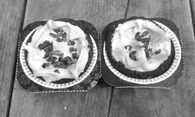 Chocolate Cupcake with Mocha Icing
