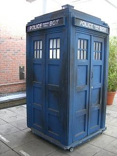 The Tardis - Dr. Who