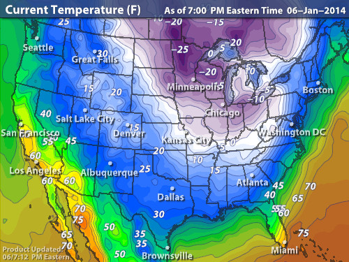 Current Us Temperature Map Uptowncritters North America Current - Us current temperature map