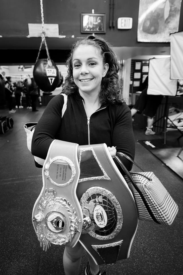 "Melissa McMorrow, ""Bags and Belts"", Photo Credit: Steven Solidarios"