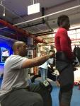 Danny Nicholas and Helen Joseph, Mendez Boxing, October 9, 2019, Photo Credit: MalissaSmith