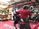 Helen Joseph sparring, Mendez Boxing, October 9, 2019, Photo Credit: MalissaSmith